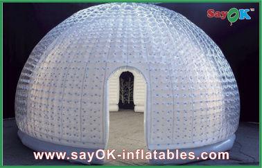 الصين 8 خيمة شخص الفينيل نفخ الهواء قبة نفخ فقاعة خيمة للترفيه المزود
