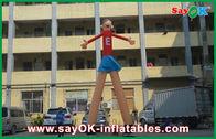 الصين الكرتون الأحمر الإعلانات الجوية الراقصات طباعة جذابة م 5 عالية للسوبر ماركت مصنع