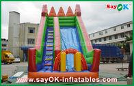 الصين سلامة PVC القماش المشمع نفخ الحارس الشريحة أصفر / أخضر اللون للعب مصنع