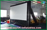 الصين شاشة 7mLx4mH نفخ الفيلم المواد البلاستيكية مع الإطار لإسقاط مصنع