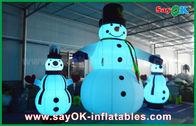 الصين أكسفورد القماش نفخ عطلة زينة العملاق ثلج عيد الميلاد حزب ل مصنع