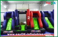 الصين الأزرق والأحمر نفخ كبير الحارس المتزلج قلعة الاطفال Palying لعب للأطفال مصنع