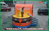 الصين 0.55 بك القراصنة قارب ترتد نفخ القفز القلعة للأطفال شهادة سغس مصنع