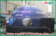 الصين ماء كامل طباعة موبايل القبة السماوية نفخ قبة خيمة مع نجمة مصنع