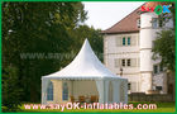 الصين ماء 10x10 ألومنيوم بك يطوي خيمة الصين 10x10 معبد خيمة مصنع