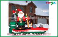 الصين كوستومزيد مختلف نفخ سانتا كلوز أحرف الكرتون لعيد الميلاد مصنع