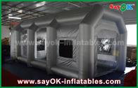 الصين قابل للنفخ قابل للنفخ هواء خيمة / قابل للنفخ رذاذ كشك مع مرشح لغطاء سيارة مصنع