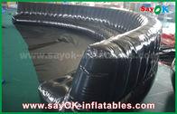 الصين صديقة للبيئة مخصص للنفخ المنتجات 6-10 متر أسود مختومة هارميتيكالي 0.6 ملليمتر بك نفخ أريكة مصنع