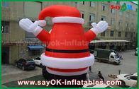 الصين كبير جميل في الهواء الطلق نفخ سانتا كلوز لعيد الميلاد الديكور مصنع