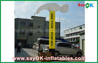 الصين تخصيص نفخ الهواء راقصة / نفخ الفأس للإعلان مصنع