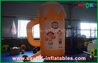 الصين أورانج مخصص للنفخ المنتجات / كأس قابل للنفخ والبيرة لتعزيز / حزب مصنع