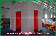 الصين ليد إنارة قابل للنفخ صور بوث مع 2 باب / قابل للنفخ خيمة مصنع