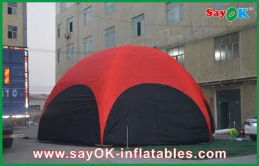 3 M الأحمر مسدس كبير في الهواء الطلق نفخ خيمة PVC لالمهنة