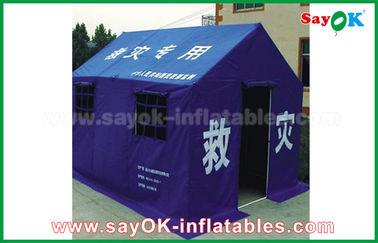 خيمة الإغاثة في حالات الطوارئ الطارئة خيمة اللاجئين للحكومة 300x400x270cm