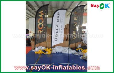 المحمولة نفخ الهواء سكين العلم للطي خيمة لتعزيز / الإعلان