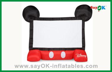مضحك للأطفال ديزني نفخ شاشة السينما المتنقلة نفخ العارض الشاشة