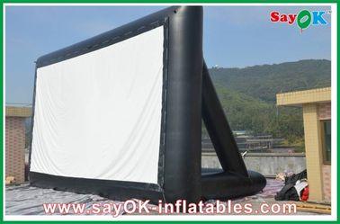 إسقاط القماش نفخ شاشة التلفزيون 6 × 3M CE / SGS شهادة