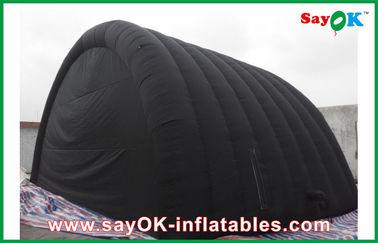 خيمة للماء أسود قابل للنفخ الهواء مع أكسفورد القماش وPVC طلاء للردور