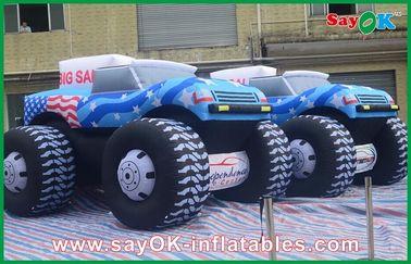 الأزرق 5M نفخ جيب سيارة 210D أكسفورد القماش للحصول على Adversting