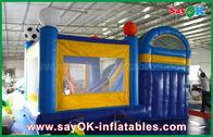4x3m صغير قابل للنفخ PVC ترتد القلعة المتزلج مع كرة القدم Decoratiionn